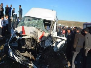 Siverek'te korkunç kaza: 9 Yaralı