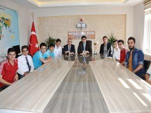 Batman Raman Anadolu Lisesi futbolda bölge şampiyonu