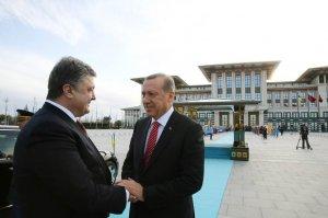 Ukrayna Devlet Başkanı  Cumhurbaşkanlığı'nda