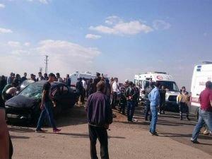 Polis aracı kaza yaptı: Biri polis 4 yaralı