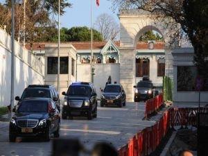 Erdoğan'dan Mabeyn Köşkü'nde sürpriz zirve