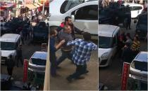 Polis ile sürücü arasında arbede: 2 gözaltı