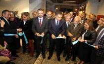 """Gaziantep'te """"Haremeyn"""" sergisi açıldı"""