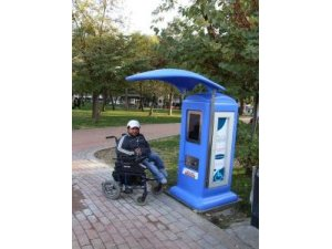 Akülü tekerlekli sandalye şarj istasyonu faaliyet girdi