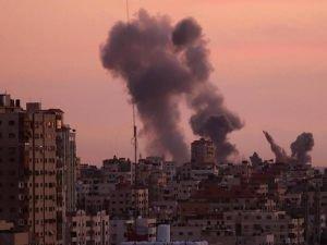 Siyonistlerin Gazze'ye saldırıları sürüyor