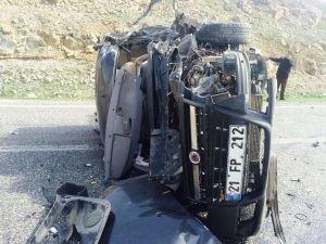 Batman'ın Sason ilçesinde trafik kazası : 7 yaralı