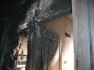 Şanlıurfa'nın Viranşehir ilçesinde Yangın