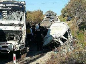 Hatay'da Trafik Faciası: 10 ölü