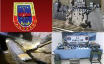 Van'da kaçakçılık ve uyuşturucu operasyonu