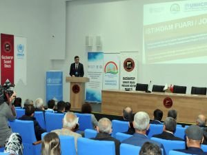 """Gaziantep'te """"İstihdam fuarı"""" açılış toplantısı yapıldı"""