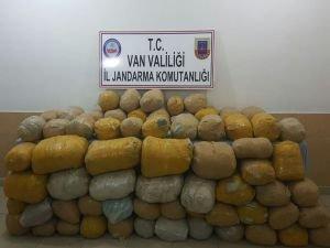 Van'da yaklaşık bir ton esrar ele geçirildi
