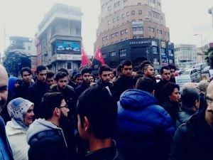 """Zonguldak'ta STK'lardan """"Kudüs"""" tepkisi"""