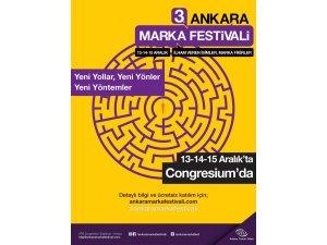 3. Ankara Marka Festivali başlıyor
