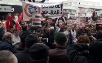 Antalya'da terör çetesi lanetlendi