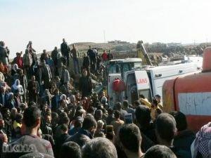 Göçük altında kalan Suriyeli işçi hayatını kaybetti