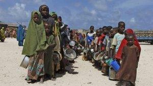 Açlığın pençesinde olan 34 ülke
