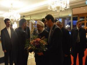 Ruhani, konaklamak için ikinci kez CVK Park Bosphorus Hotel İstanbul'u seçti