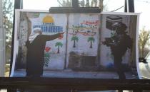 Skandal Kudüs kararına üniversite öğrencileri resim sergisi açarak tepki gösterdi