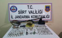 Siirt'te tarihi eser kaçakçılığı operasyonu