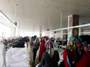 Tekstil çalışanı kadınlardan Kudüs için anlamlı destek