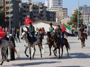 Mardinli gençler atlarıyla Kudüs'e gitmeye hazır