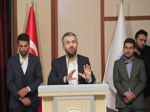 """Şenocak: """"Selahaddin'in bayrağını eline alan gençler Mescid-i Aksa'ya girecekler"""""""