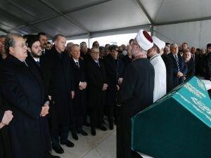Cumhurbaşkanı Erdoğan, Mesut Yılmaz'ın oğlunun cenaze törenine katıldı