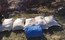 Batman'daki PKK operasyonunda 350 kilo amonyum nitrat ele geçirildi
