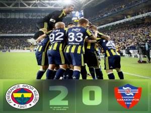 Kanarya, Karabük'ü rahat geçti: 2-0