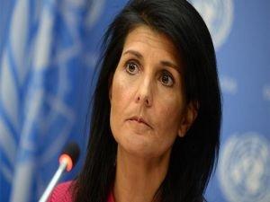 """ABD'den BM üyelerine küstah """"Kudüs"""" tehditi"""