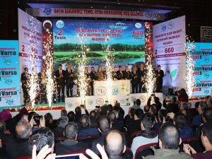 Mardin'de 660 milyon liralık iki tesisin temelleri atıldı