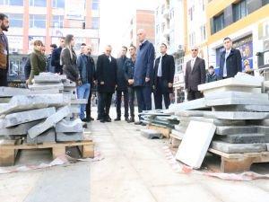Vali Deniz ve Başkan Vekili Aksoy, çalışmaları denetledi