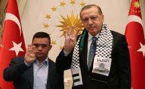 Cumhurbaşkanı Erdoğan down sendromlu Filistinli'yi kabul etti