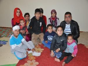Suriyeli ailenin içler acısı hali