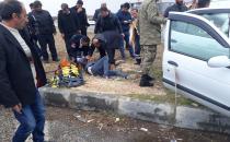 Kâhta Küçük Sanayi Sitesi Kavşağında Trafik Kazası