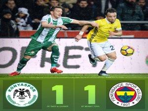 Konya-Kanarya yenişemedi: 1-1