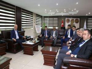 GATOB üyeleri Aksoy'u ziyaret etti
