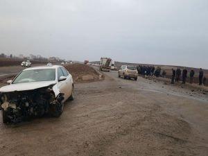 Bismil'de trafik kazası!