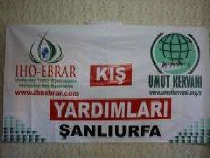 IHO-EBRAR Şanlıurfa'da 250 öğrenciye mont ve ayakkabı dağıttı