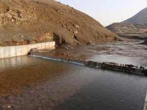 Palu'da sulama kanalının inşaatı tamamlandı
