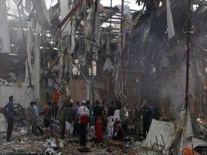 Yemen'e hava saldırısı: En az 45 ölü