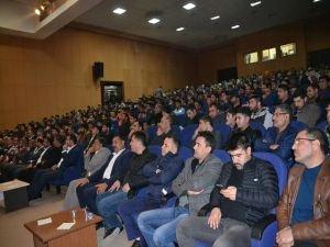 "Viranşehir'de ""Ümmetin Sorumluğu Kudüs"" temalı konferans"