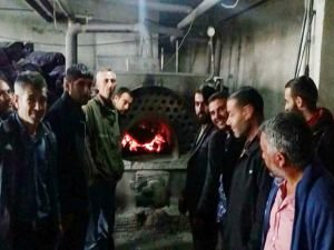 """Mardin'de """"Katı ve Sıvı Yakıtlı Kalorifer Ateşçiliği"""" kursu"""