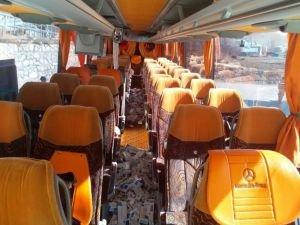Otobüs koltuklarına zulalanmış 3 bin paket kaçak sigara ele geçirildi