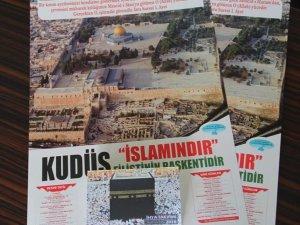 Van'da Kudüs yararına takvim bastırıldı