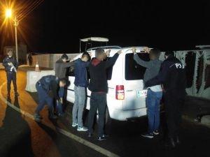 Mardin'deki asayiş uygulamasında 6 kişi yakalandı