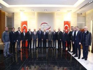 Ulaştırma Bakanı Arslan'dan ATO'ya ziyaret!
