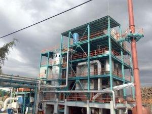 Çöplerden elektrik üretecek tesiste çalışmalar sürüyor