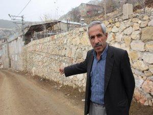Palanlı köyü sakinleri yollarının yapılmasını istiyor!