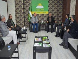 Filistin Âlimler Birliği Genel Sekreteri Tekruri'den HÜDA PAR'a ziyaret